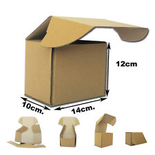 100 Cajas Postales para enviar Tazas. Medidas 14x10x12cm Kraft Marrón