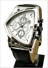 COGU Triangle Chronograph C43-WH White Mens Wrist Watch From JP