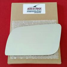 New Mirror Glass + ADHESIVE CHEVY GMC TRUCK VAN Driver Left Side ** FAST SHIP **