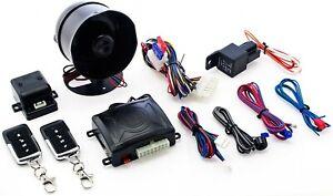 OMEGA K-9 MUNDIAL SSA LA CAR ALARM 1-WAY SECURITY SYSTEM 2 REMOTE TRANSMITTERS