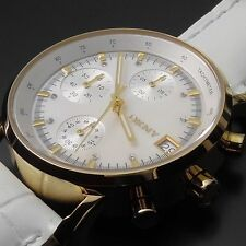 Polierte Vergoldete Armbanduhren mit 12-Stunden-Zifferblatt