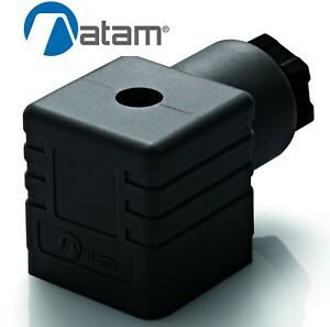 SOLENOID VALVE CONNECTOR PLUG DIN 43650 / EN175301-803 ATAM KA132000B9