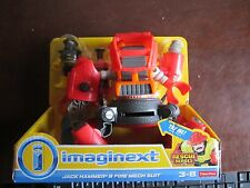 Fisher Price Imaginext New Rescue Heroes Jack Hammer & Fire Mech Robot Suit
