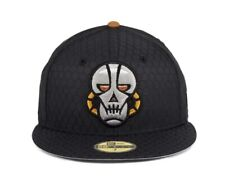 Exclusive Dionic New Era 59Fifty 7 3/8 Cyborg Head Fitted Cap Hat Black SOLD OUT