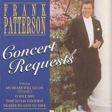 Concert Requests Frank Patterson June 7, 2011 - cd