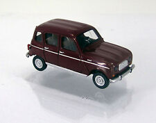 Wiking 022403 Renault R4 ( Modell 1961 ) - weinrot