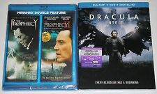 Horror Blu-ray Lot - The Prophecy 1 & 2 (New) Dracula Untold (New)