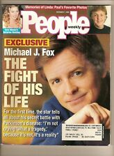 Michael J. Fox - The Fight Of His Life - PEOPLE Magazine 1998