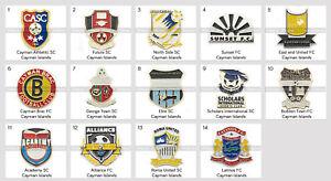 Badge Pin Cayman Islands Football Clubs