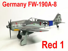 "Easy Model 1/72 Germany Fw190 A-8 ""Red 1"" Commander of 12./JG 54 France #36360"