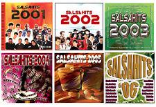 SALSA HITS * 6 NEW CD's * 72 Songs * Victor Manuelle, Rey Ruiz, Jerry Rivera *