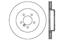 Centric Parts 121.34052 Front Disc Brake Rotor
