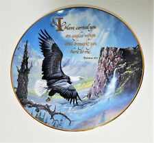 Carried On Eagles' Wings Royal Doulton collector plate by Ted Blaylock