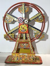 RARE  J. CHEIN  HERCULES FERRIS WHEEL TIN LITHO WIND-UP TOY   MADE IN USA
