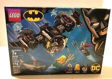 Lego Dc 76116 Batman Batsub And The Underwater Clash Playset Retired Sealed