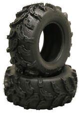 2 New Premium ATV UTV Tires 25x11-10 25x11x10 6PR 10216 Ultra Deep Tread