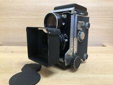 *Exc+4 : Blue Dot Lens & Hood* Mamiya C3 TLR 6X6 Camera w/ 65mm Lens From Japan