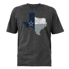Dallas Cowboys NFL Men's Gray Short Sleeve State Of Texas Shirt Size Large - NWT
