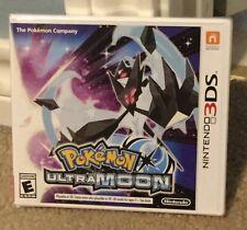Pokémon Ultra Moon (Nintendo 3DS, 2017)