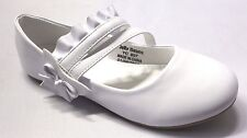 Girl Flats (Blis) Kid Flower Girl Pageant Dress Shoes White Beige