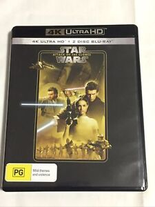 Star Wars Attack Of The Clones 4K Blu Ray