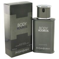 BODY KOUROS by Yves Saint Laurent 3.3 oz edt Men's Cologne Spray 3.4 NEW NIB