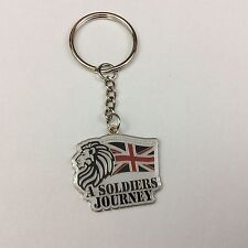 A soldiers journey enamel keyring - key chain -