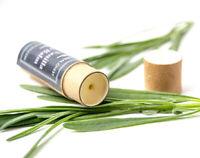 Vegan Lavender Vanilla Shea Cocoa Butter Lip Balm in Paper Tube Eco Skincare