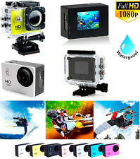 CAMARA DEPORTIVA DE VIDEO 1080P FULL HD 1080 SUMERGIBLE 30M ACUATICA DV FHD