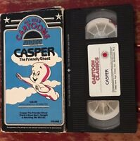 CASPER THE FRIENDLY GHOST - VOL. 7 - (VHS) - ALL STAR CARTOONS Color