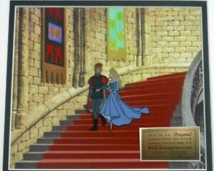 Disney Original Production cel Sleeping Beauty 1959 Art Corner Phillip Aurora