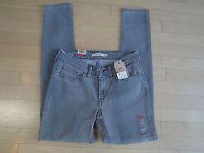Levis 711 Skinny Mid-Rise Juniors Gray Jeans W:24 L:32 $54.50 (188810027)