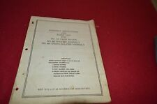 Oliver Tractor 660 Farm Wagon Dealer's Parts Book Manual BVPA