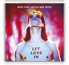 NICK CAVE AND THE BAD SEEDS - LET LOVE IN LP COVER FRIDGE MAGNET IMAN NEVERA