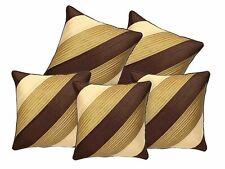 Decor Studioz Geometric Design Synthetic Cushion Cover,16 x 20 Inch (Set Of 5)