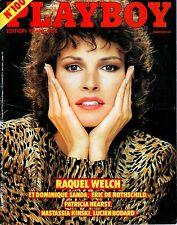 RAQUEL WELCH - NASTASSIA KINSKI - PATRICIA HEARST - PLAYBOY #100 - Mars 1982