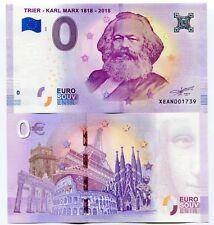 KARL MARX 2018 TRIER 200th Anniversary Germany 0 Euro Souvenir UNC Banknote