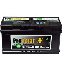 GELBatterie 110Ah Solarbatterie Versorgungsbatterie Verbraucherbatterie GEL