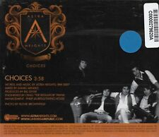 Choices [Promo Single] by Astra Heights (Cd 2007) [1 trk]