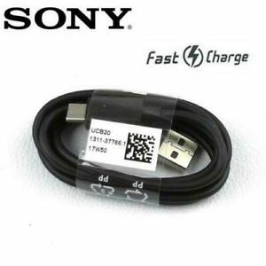 Sony Experia L1 L2 XA1 XA2 XZ Type C USB-C Sync Charger Charging Cable UK