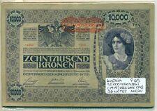 AUSTRIA BUNDLE 26 NOTES 10000 KRONEN (1919) OLD DATE 1918 P 65 AXF/AU