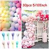 30pcs 5/10Inch Macaron Latex Balloon Baby Shower Birthday Wedding Party Decor US