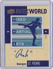 2011 Upper Deck Athletes of the World Autograph Georges St-Pierre AUTO