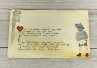 VINTAGE HOLIDAY VALENTINES GREETING POST CARD POSTCARD
