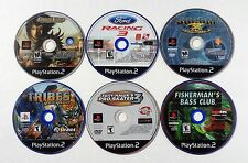 PLAYSTATION 2 PS2 VIDEO GAME LOT PRINCE OF PERSIA THE 2 THRONES FORD RACING 3