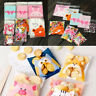 100pcs Handmade Cookie Jewelry Bag Cute DIY Gift Bags Plastic Candy Party Bag