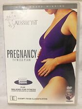 AUSSIE FIT ~ PREGNANCY FITNESS PLAN + WALKING FOR FITNESS ~ ALMOST AS NEW DVD