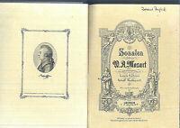 Mozart ~ Sonaten - Band 1 gebunden