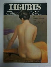 "Vintage Art Book ""Figures from LIfe"" Duflos and Foster.  Complete circa 1950's"