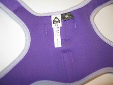 Top Paw XS Dog Soft Vest Harness & 6ft  Leash Purple Excellent Condition